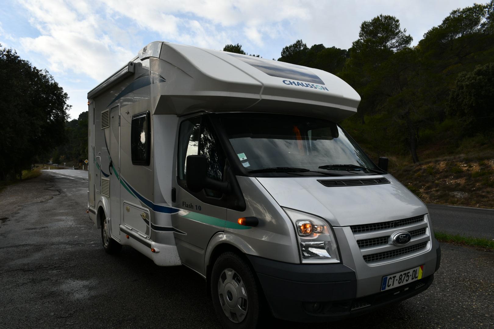 Camping car profilé Chausson Flash 10
