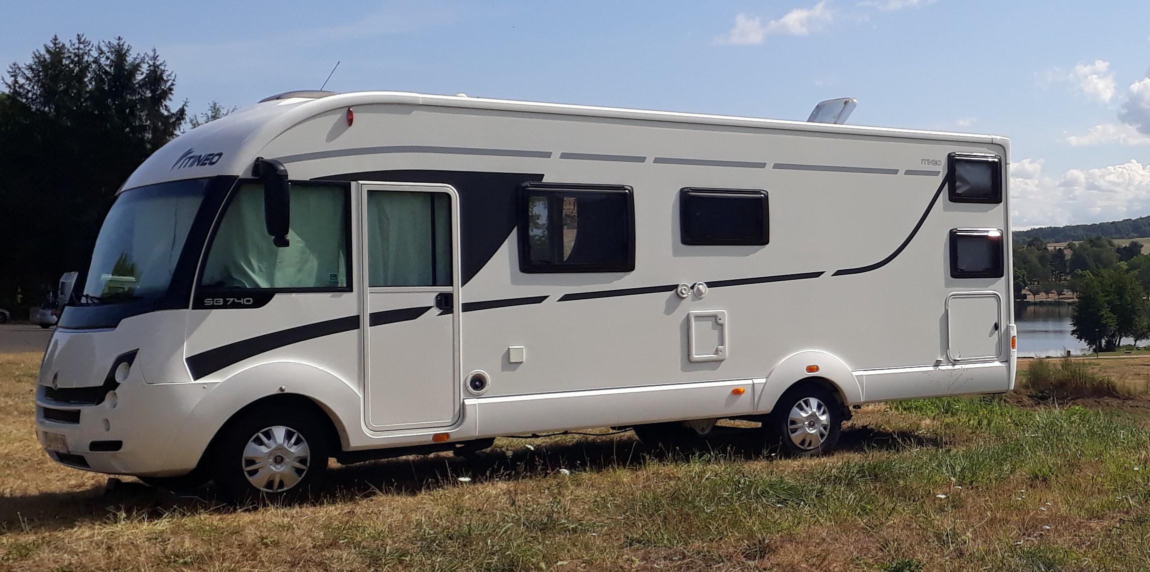 Camping car intégral ITINEO SB 740