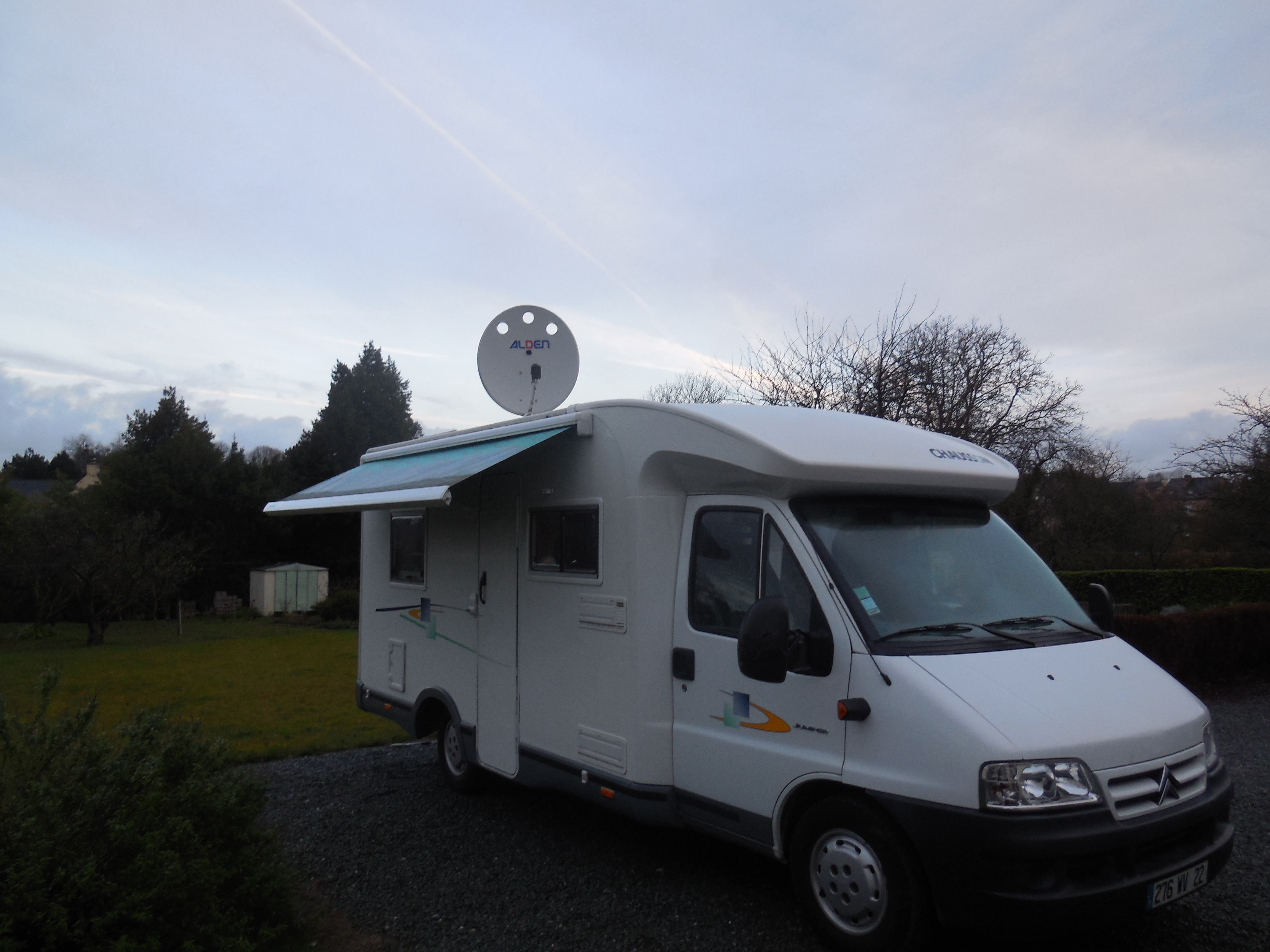 Camping car profilé Chausson Welcome 70