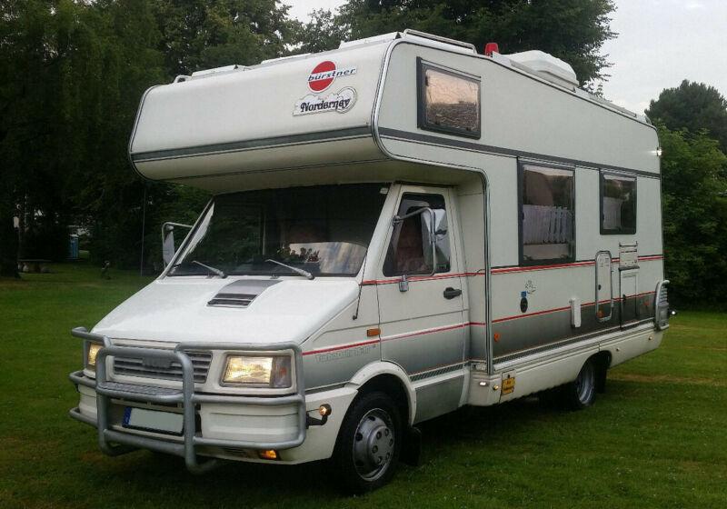 Camping-car Bürstner Wohnmobil Iveco